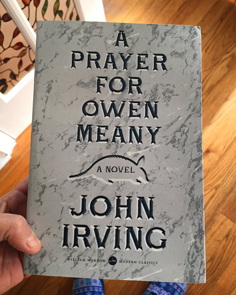 an analysis of the novel a prayed for owen meany by john irving Buy a cheap copy of a prayer for owen meany book by john irving owen meany is a dwarfish boy with a strange voice who accidentally kills his best friend's mom with a baseball and believes--accurately--that he is an instrument of free shipping over $10.