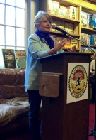 Author Morgan Callan Rogers at Booktopia Northshire Bookstore