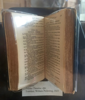 Publius Terentius Afer, Selected works of Terence, Miniature Book, 1823