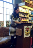 Author Sophie McManus at Booktopia Northshire Bookstore