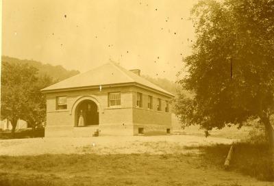 Buckland Public Library Historic Photo 1891
