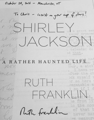 Ruth Frankin Insist on Your Cup of Stars - Shirley Jackson