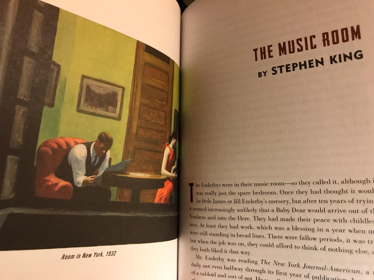Stephen King's The Music Room (WildmooBooks.com)