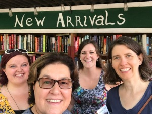 New England Book Bloggers Visit the Book Barn in Niantic, CT (WildmooBooks.com)