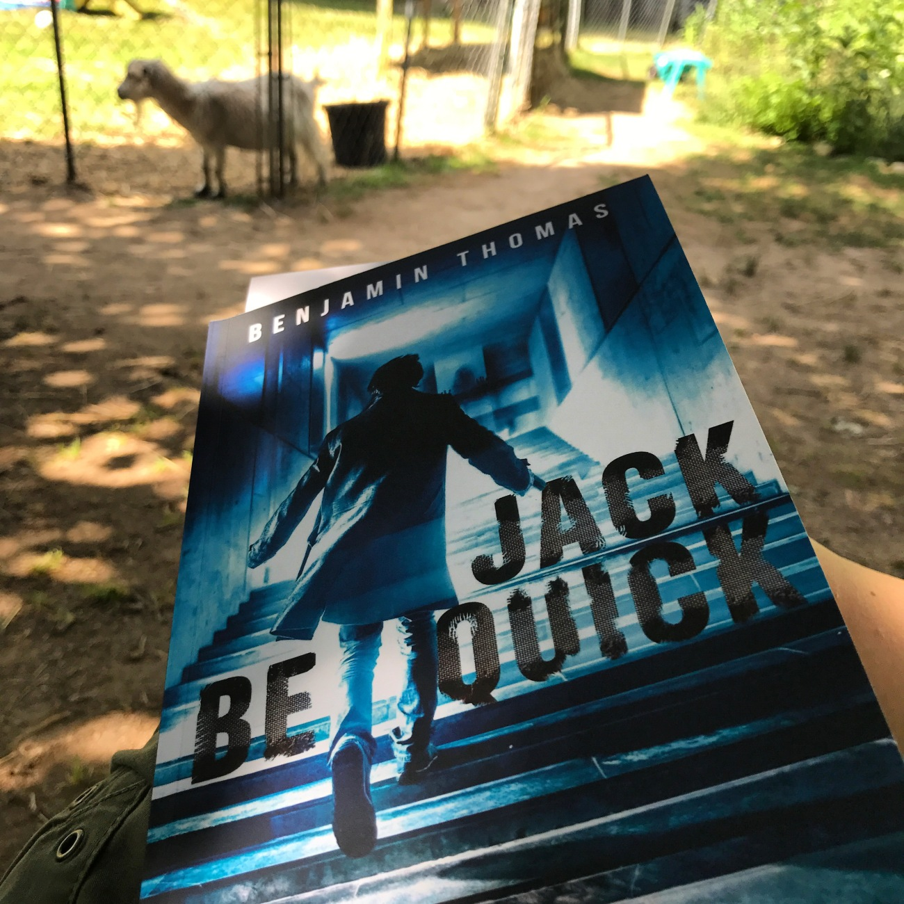 Jack Be Quick by Benjamin Thomas with Goats (WildmooBooks.com)
