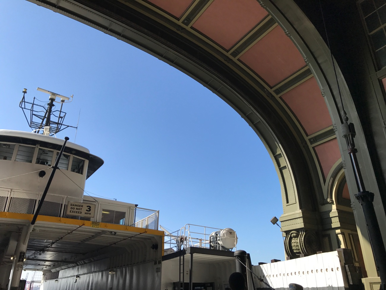 Battery Maritime Building - Ferry to Governors Island (WildmooBooks.com)
