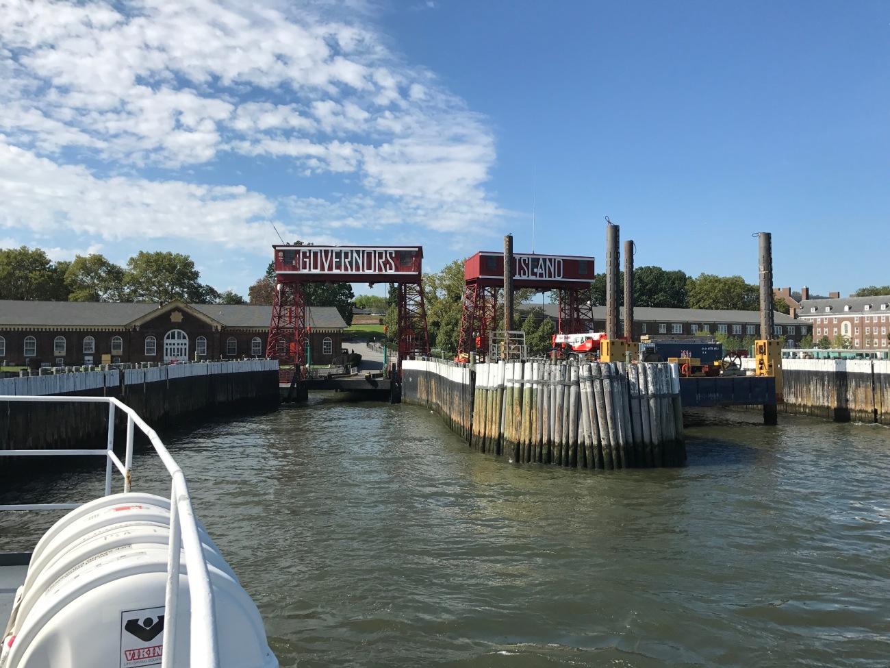 Ferry to Governors Island (WildmooBooks.com)