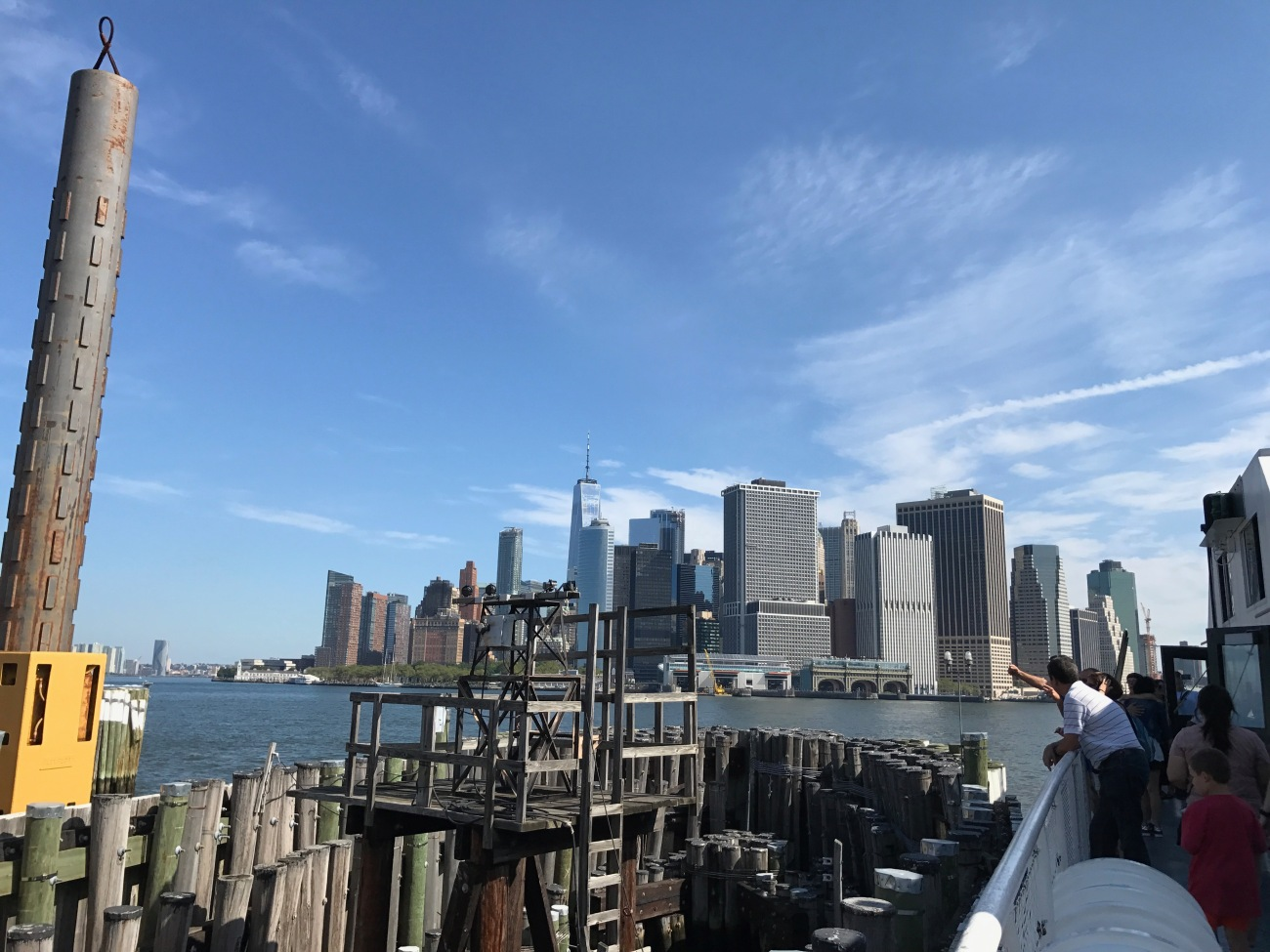 View of Manhattan from Governors Island (WildmooBooks.com)