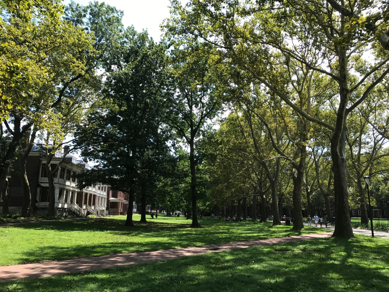 Colonels Row on Governors Island (WildmooBooks.com)