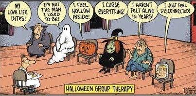 Halloween Group Therapy (WildmooBooks.com)