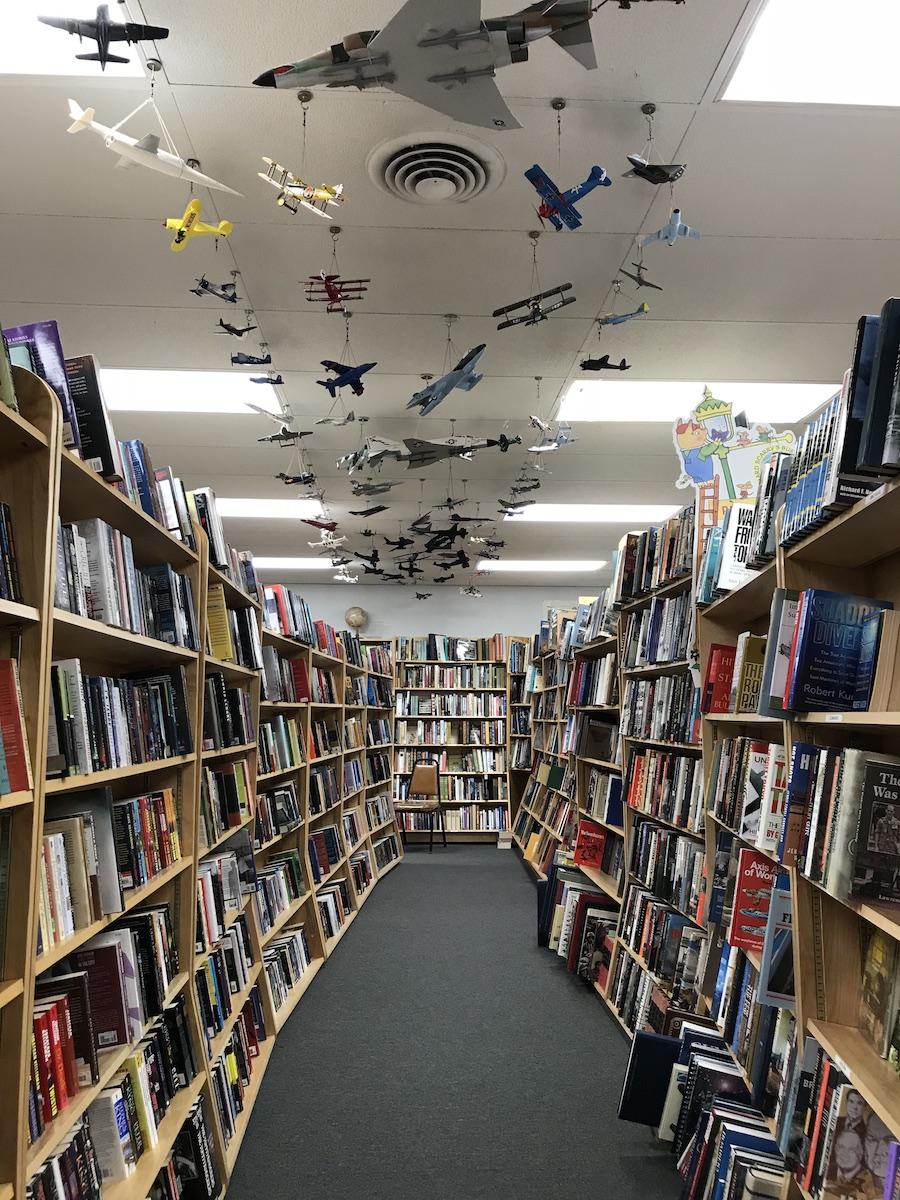 Toadstool Bookshop, Peterborough, NH (WildmooBooks.com)