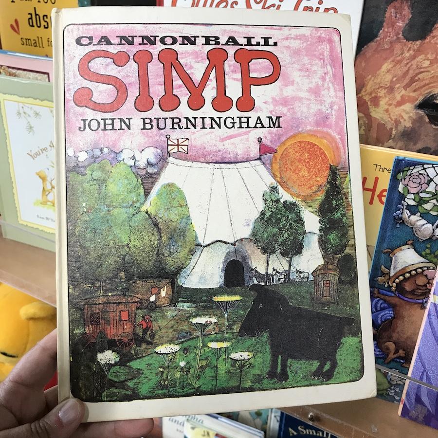 Cannonball Simp by John Burningham (WildmooBooks.com)
