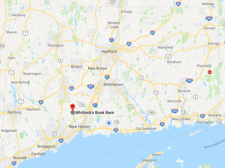 Whitlock's Book Barn, Google Map (WildmooBooks.com)