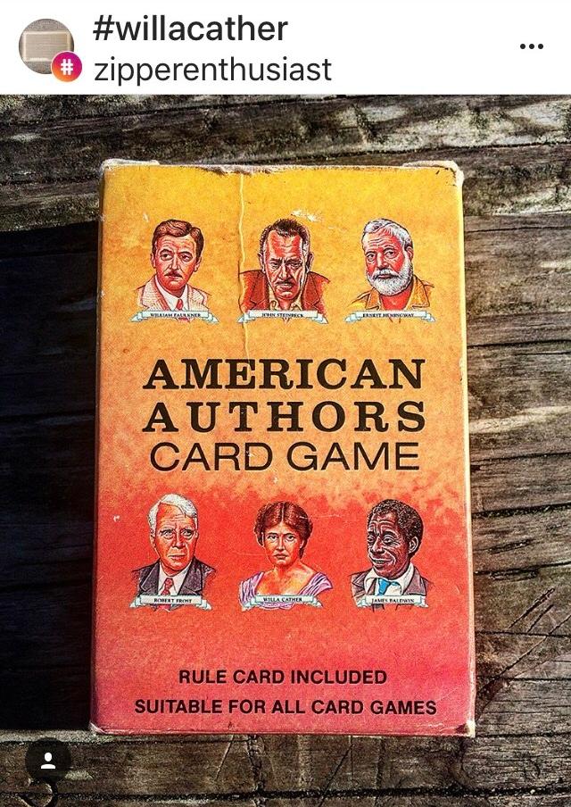American Authors Card Game (WildmooBooks.com)